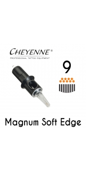 Cheyenne Cartridge- 9 Magnum Soft Edge - 10 Pack