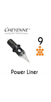 Cheyenne Cartridge -9 Power Liner-10 Pack