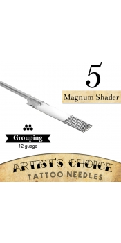 Artist's Choice Tattoo Needles - 5 Magnum Shader 50 Pack