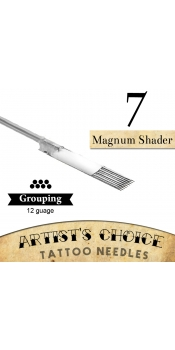 Artist's Choice Tattoo Needles - 7 Magnum Shader 50 Pack