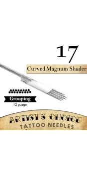 Artist's Choice Tattoo Needles - 17 Curved Magnum 50 Pack