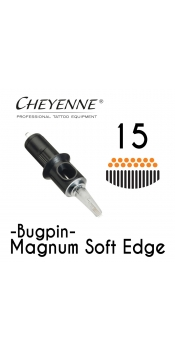 Cheyenne Cartridge - 15 Bugpin Magnum Soft Edge - 10 Pack