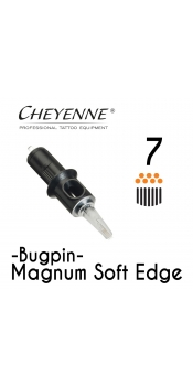Cheyenne Cartridge- 7 Bugpin Magnum Soft Edge - 10 Pack