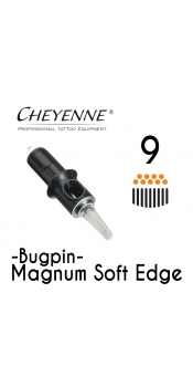 Cheyenne Cartridge - 9 Bugpin Magnum Soft Edge - 10 Pack