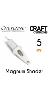 Cheyenne Craft Cartridge needles - 5 Magnum - 10 Pack
