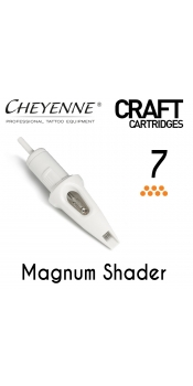 Cheyenne Craft Cartridge needles - 7 Magnum - 10 Pack