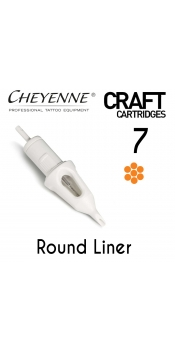 Cheyenne Craft Cartridge needles - 7 Round Liner - 10 Pack