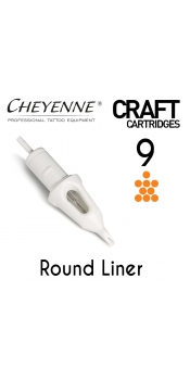 Cheyenne Craft Cartridge needles - 9 Round Liner - 10 Pack