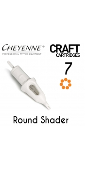 Cheyenne Craft Cartridge needles - 7 Round Shader - 10 Pack