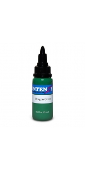 2 oz Intenze Tattoo ink  dragon-green