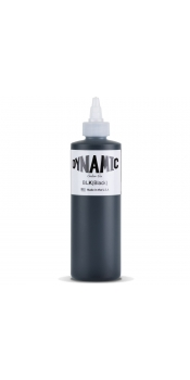 Dynamic BLACK Tattoo Ink 8oz Bottle