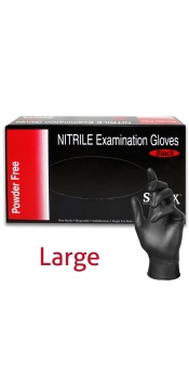 Nitril Tattoo Glove, Powder-Free, Latex Free - Large