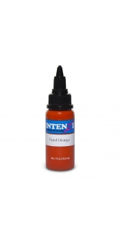 2 oz Intenze Tattoo ink  hard-orange