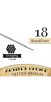 Artist's Choice Tattoo Needles - 9 Round Liner 50 Pack