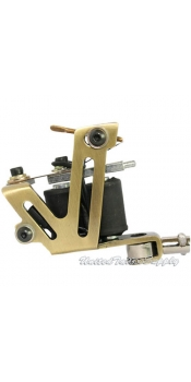 Brass Shader & Liner Stainless Steel Tattoo Machine