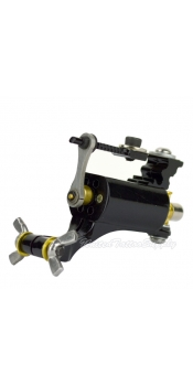 BRAVO Rotary™ Tattoo Machine Lightweight Alloy Frame - BLACK