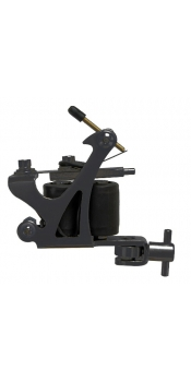 C-CLASS Basic Steel Tattoo Machine Black w/8Wrap Coils