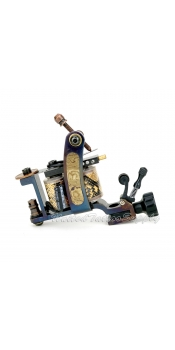 Hand Made Totem DAMASCUS TATTOO Machine with Needle Tensioner - Liner