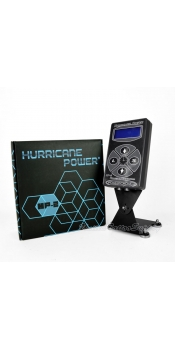 Hurricane HP-2 Black Dual Digital LCD Tattoo Power Supply - 2013 New Version