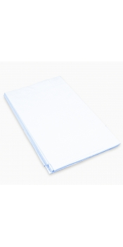 "Poly-backed Drape Sheets 40"" x 90"" - Case of 50"