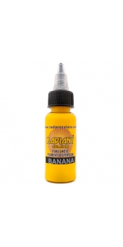 0.5 oz Radiant Tattoo ink Banana