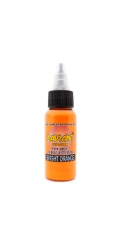 0.5 oz Radiant Tattoo ink Bright Orange