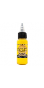 0.5 oz Radiant Tattoo ink Canary Yellow
