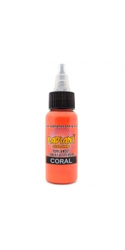 0.5 oz Radiant Tattoo ink Coral