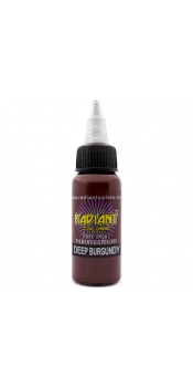 0.5 oz Radiant Tattoo ink Deep Burgundy
