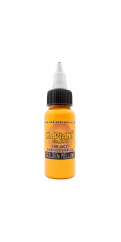 0.5 oz Radiant Tattoo ink Golden Yellow