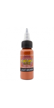 0.5 oz Radiant Tattoo ink Light Brown