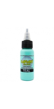 0.5 oz Radiant Tattoo ink Teal