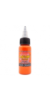 0.5 oz Radiant Tattoo ink Tiger Orange