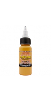 0.5 oz Radiant Tattoo ink Yellow Ochre