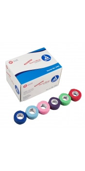 "Sensi Wrap Self Adherent Wraps 1"" x 5 Yards Per Roll (Box of 30 Rolls)"
