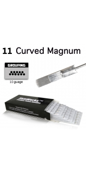 Tattoo Needles - #10 Bugpin 11 Curved Magnum