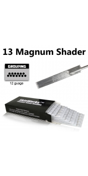 Tattoo Needles - 13 Magnum Shader 50 Pack