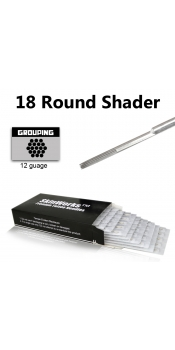 Tattoo Needles - 18 Round Shader 50 Pack