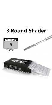 Tattoo Needles - 3 Round Shader 50 Pack