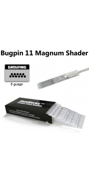Tattoo Needles - #8 Bugpin 11 Magnum Shader