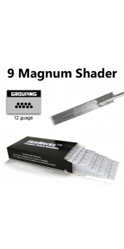 Tattoo Needles - 9 Magnum Shader 50 Pack