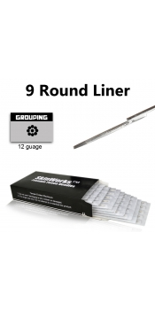 Tattoo Needles - 9 Round Liner 50 Pack