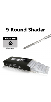 Tattoo Needles - 9 Round Shader 50 Pack