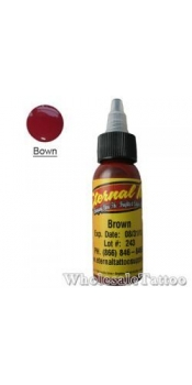 1 oz Eternal Tattoo Ink brown