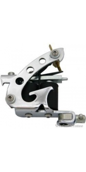 C-CLASS Basic Stainless Steel Tattoo Machine w/8 Wrap Coils