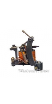 E-CLASS Professional Tattoo Machine TM-E017 w/10 Wrap Coils