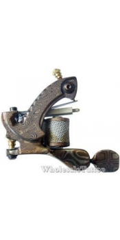 Hand Made CUSTOM Liner DAMASCUS TATTOO Machine