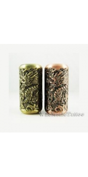 Empaistic Copper Tattoo Grip and Tube Dragons Design