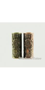 Empaistic Copper Tubes Tattoo Grip Tube Celtic Skull