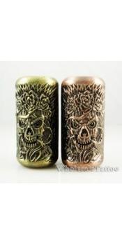 Empaistic Copper Tattoo Grip &Tube Voodoo Skulls Design
